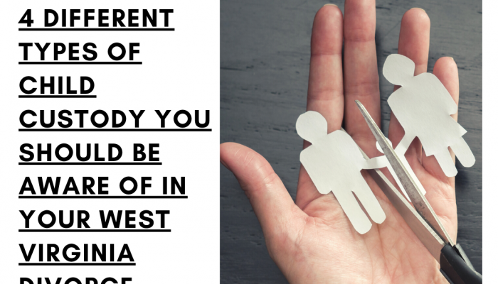 4 Different Types of Child Custody You Should Be Aware of in West Virginia