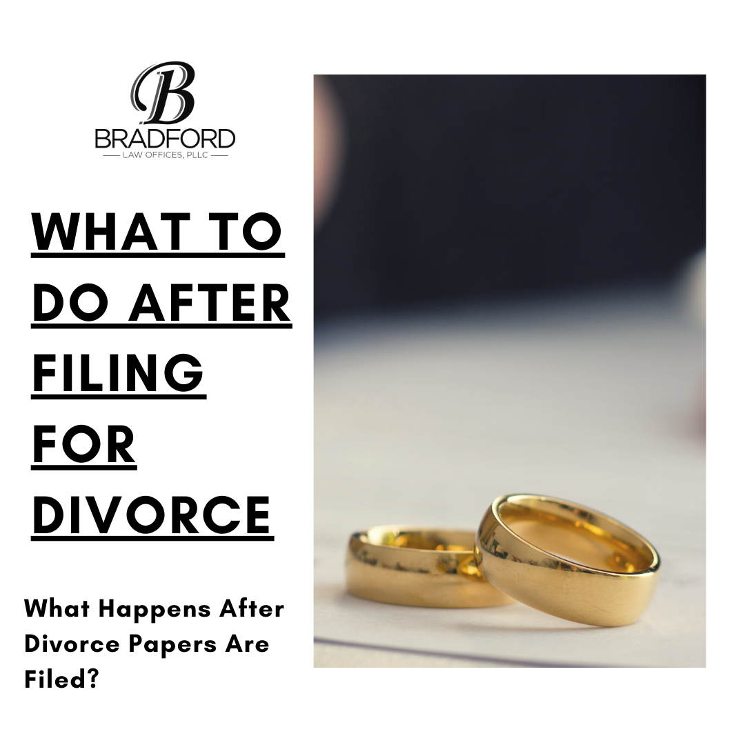 What to do After Filing for Divorce - Family Law Blog